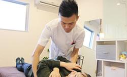 しびれ、坐骨神経痛の施術写真